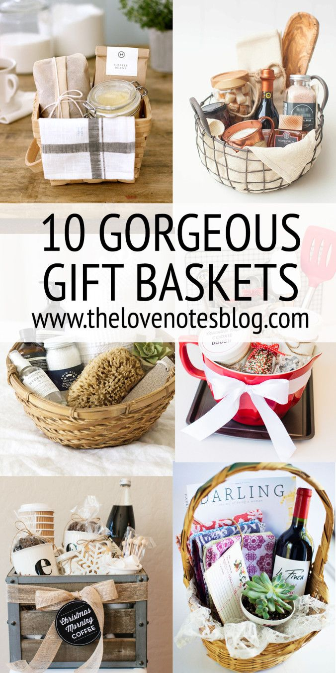 GIFT BASKET IDEAS Basket ideas, Gift and Christmas gifts