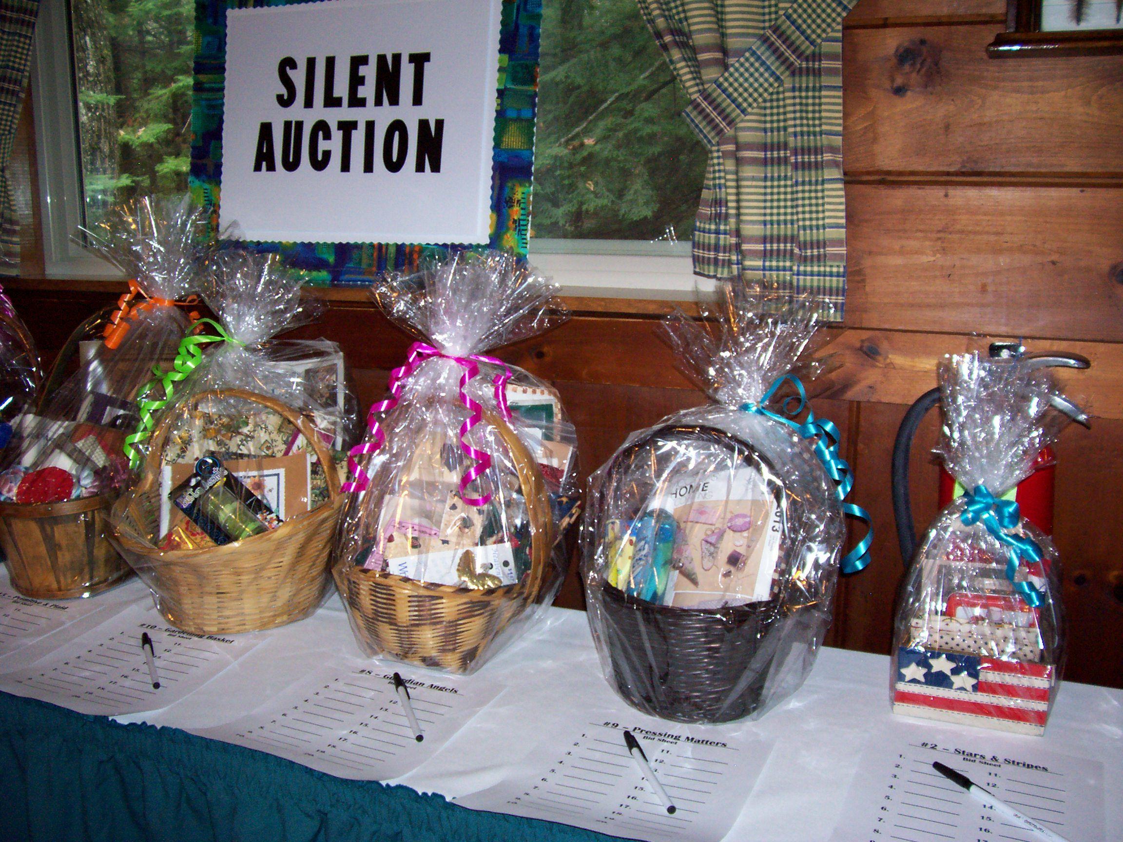 Silent Auction Strategy 5 Silent Auction Basket Ideas