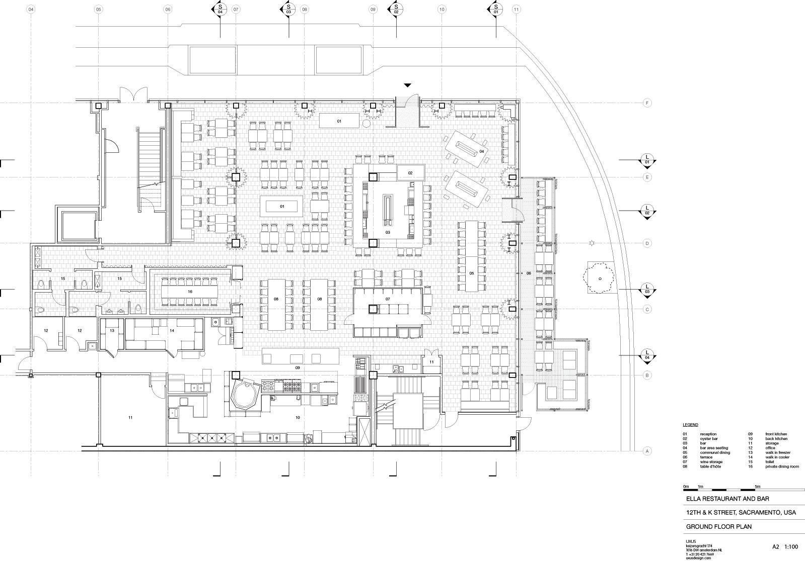 A Floor Plan Ella S Dining 03 Bar Area 04 Lounge 07
