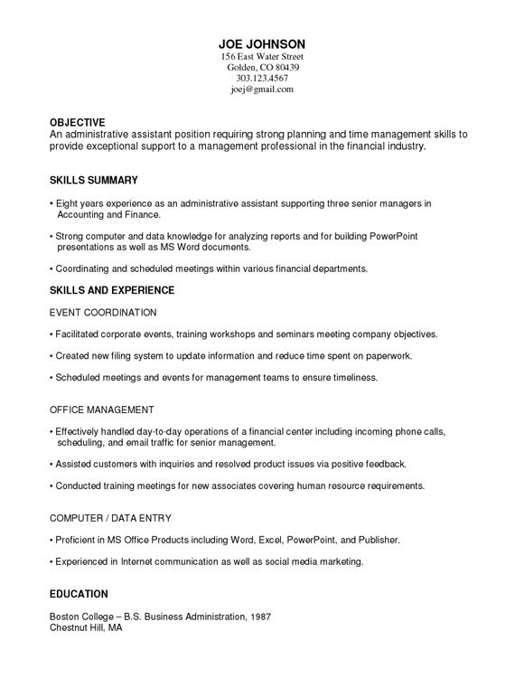 Correct date format for resume