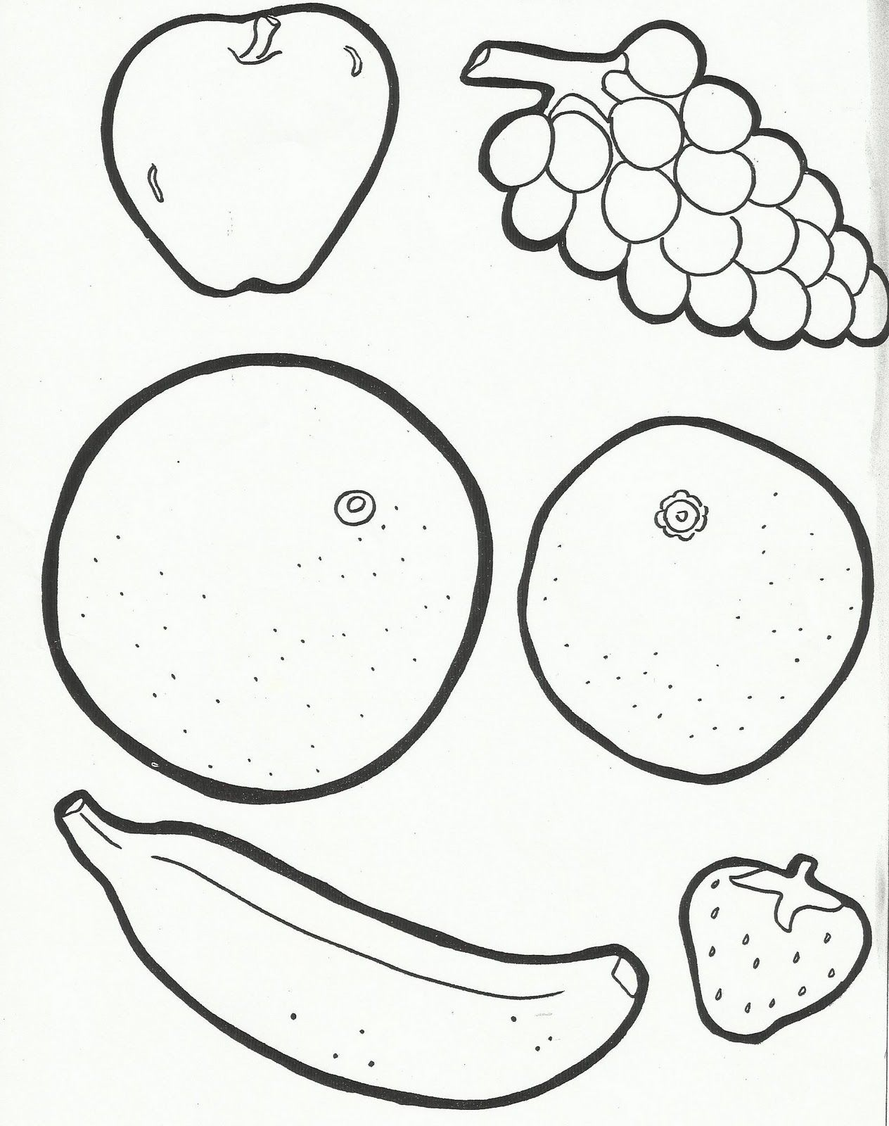Tissue Paper Fruit Preschool