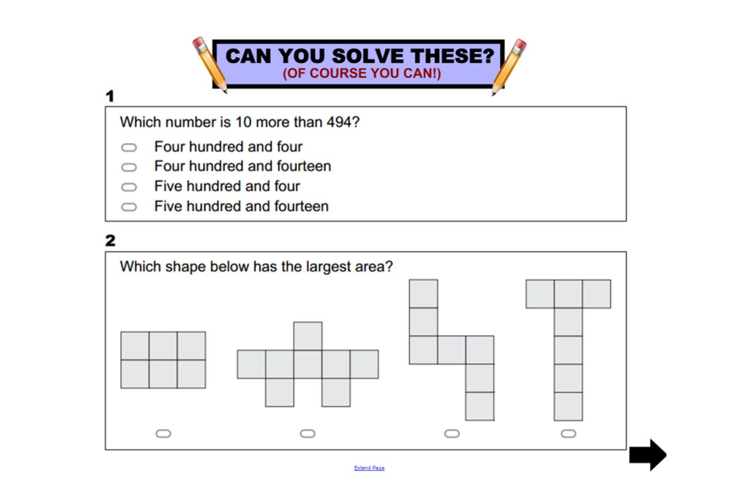 Year 3 Napaln Numeracy Practice Questions For Iwb Interactivelessons