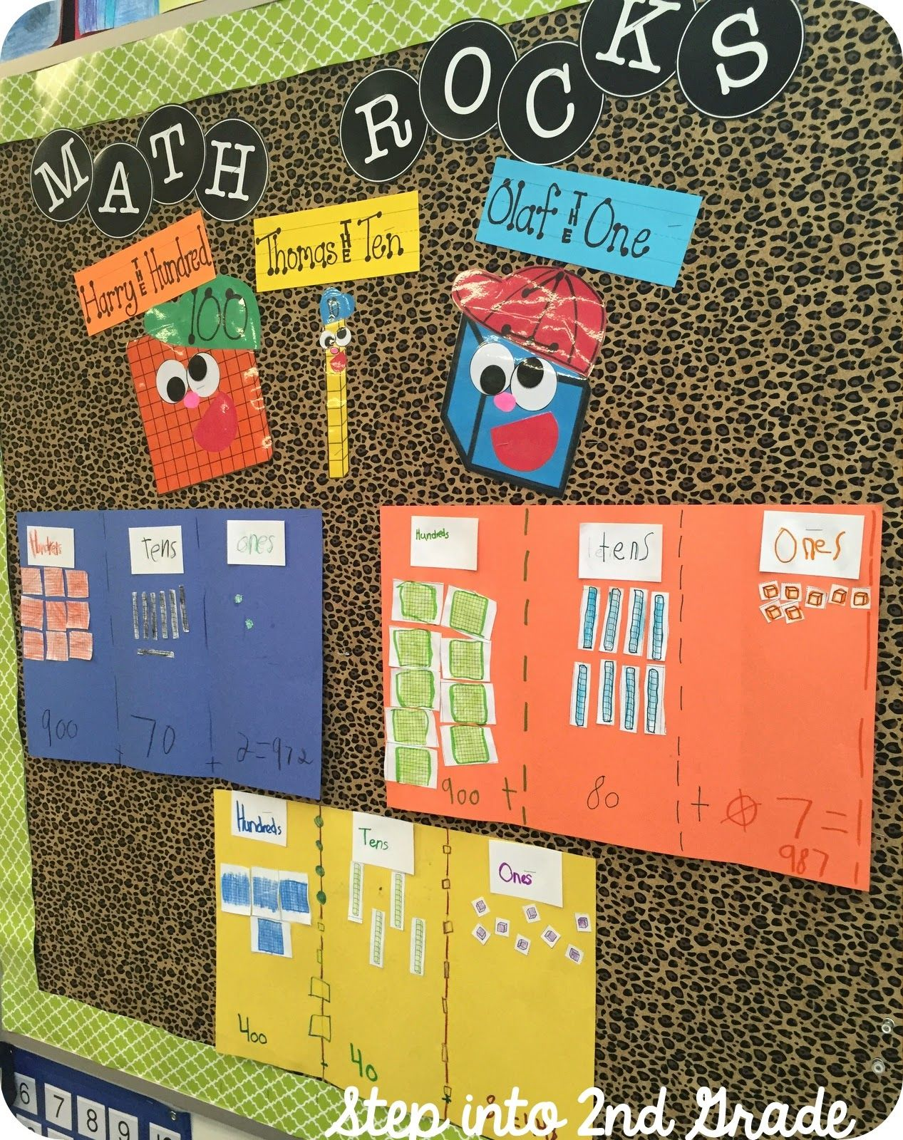 Place Value Activity Base Ten Blocks Hundreds Tens And Ones Place Value Pals