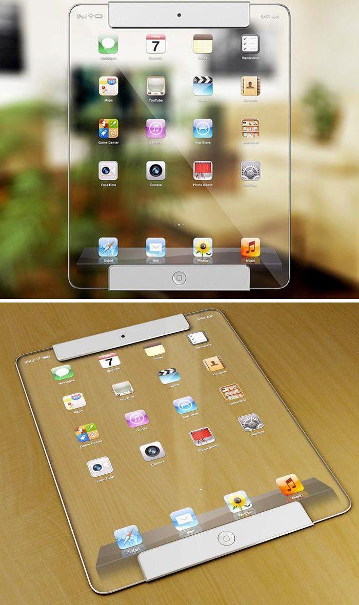Is This Transparent iPad in Your Future? iPad, Apple mac