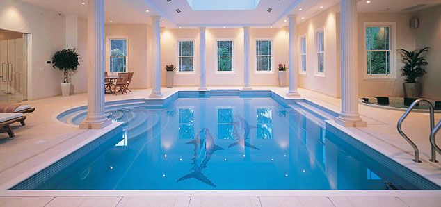 Indoor Swimming Pool With Classical Design