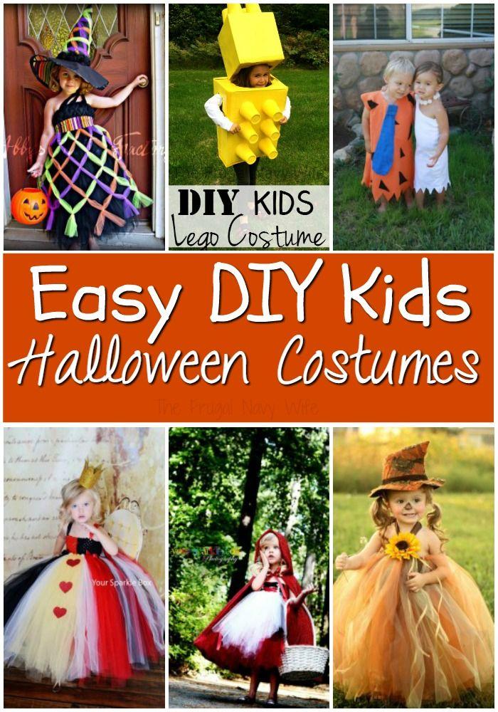 DIY Halloween Costume Ideas for Kids You Will Love DIY