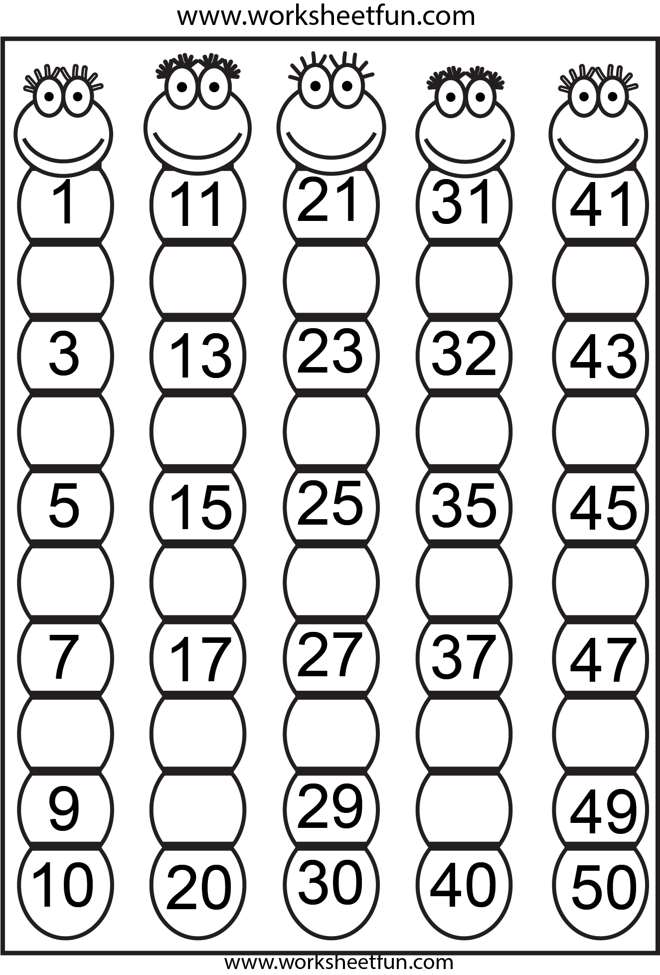 Hebrew Numbers 1 20 Worksheet