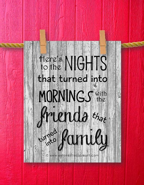 Barnwood Art Gifts for Best Friends Quote by