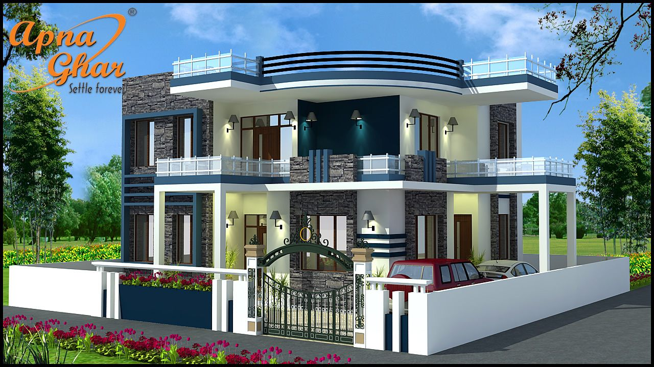 4 Bedroom Duplex House Design in 210m2 (14m X 15m) Click
