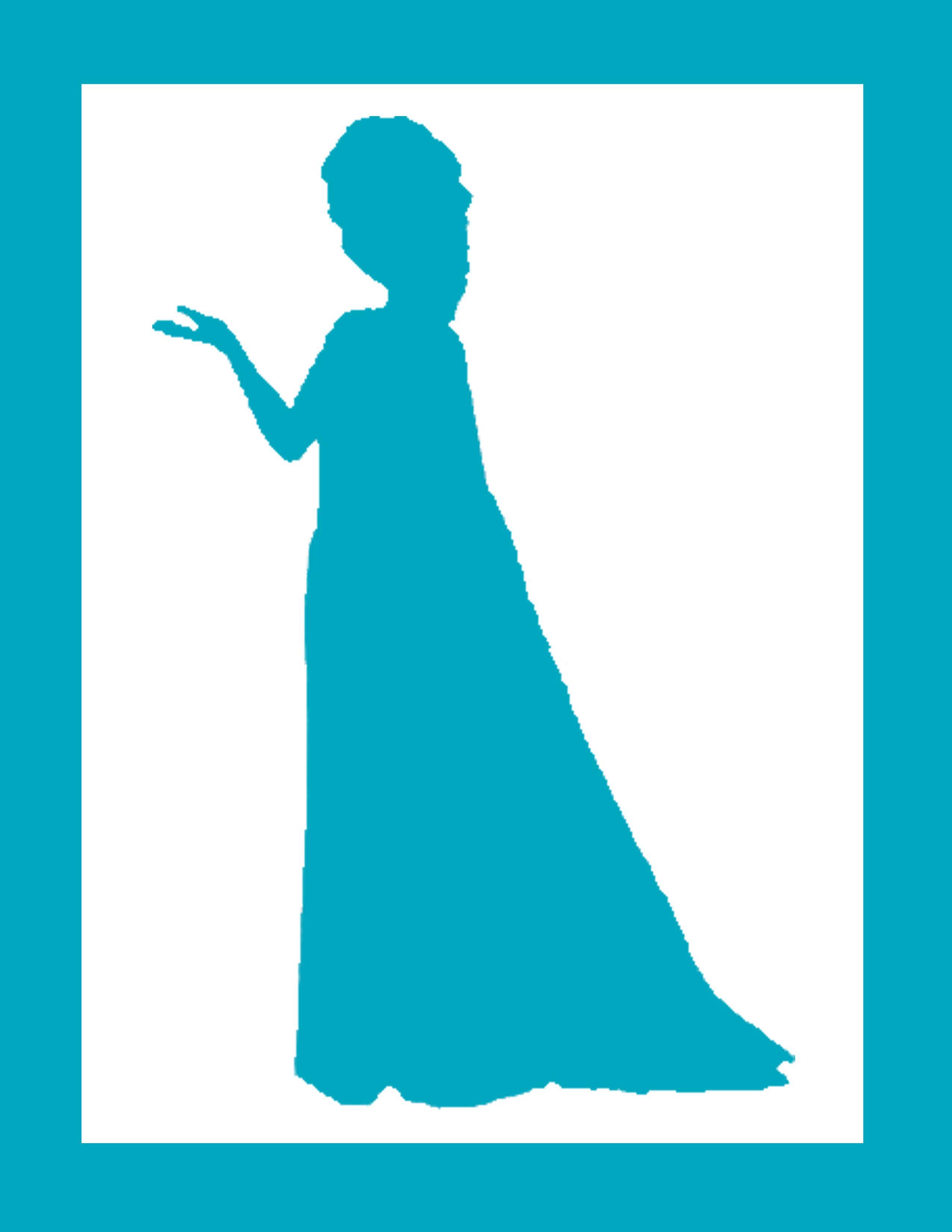 Elsa silhouette Frozen Pinterest