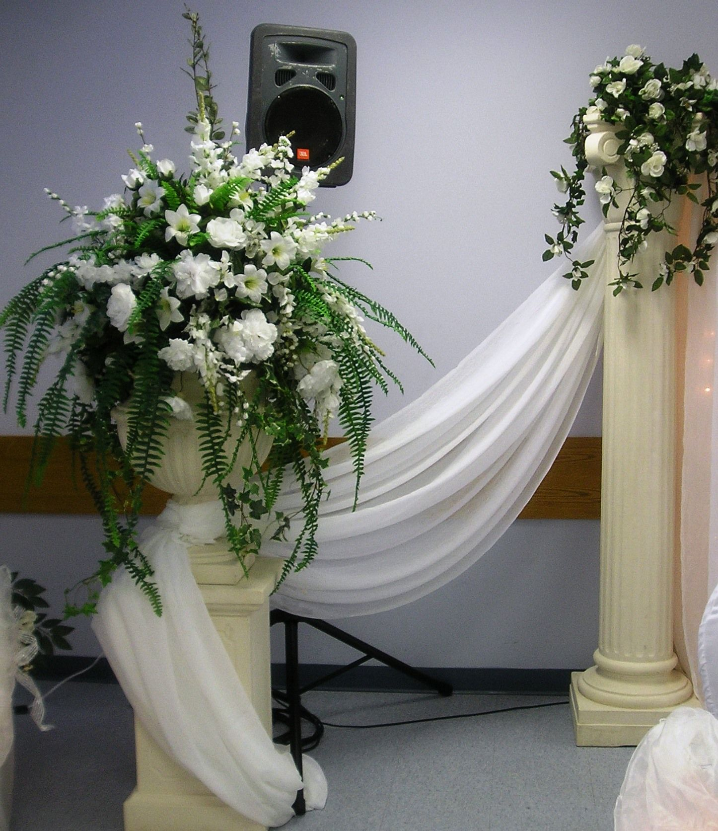 White Floral Arrangements