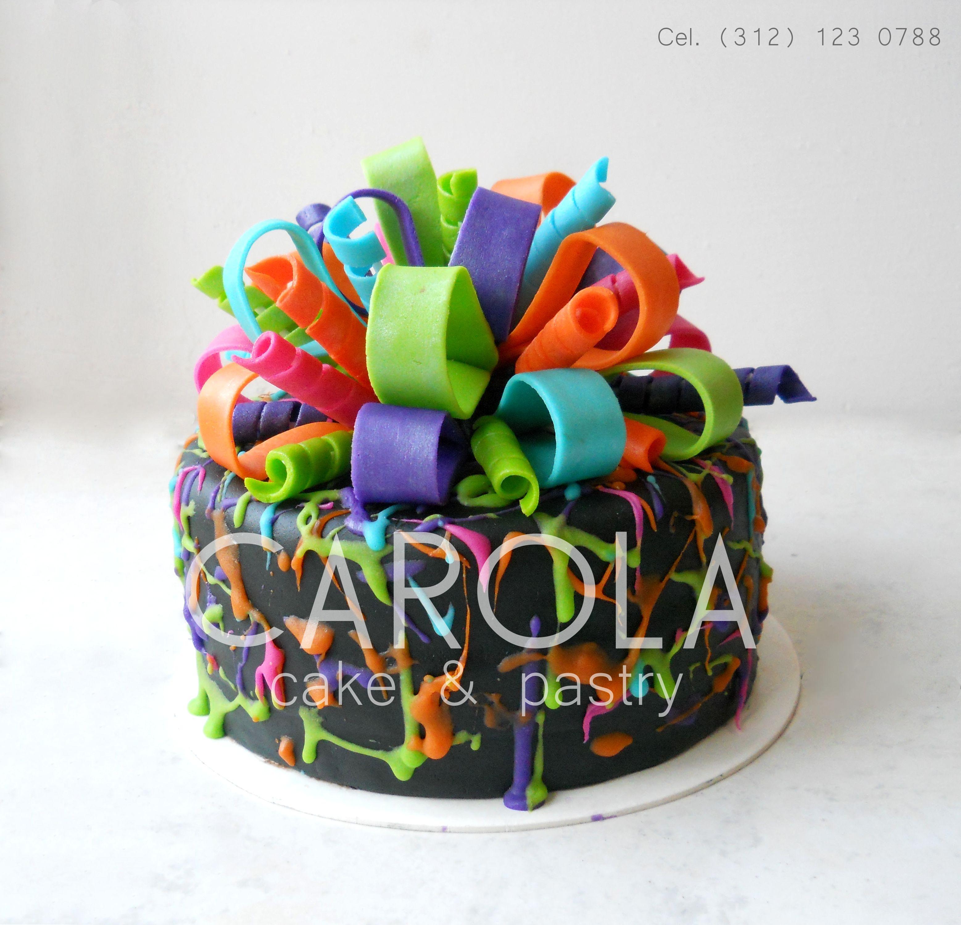 T Cake Festeja Con Este Divertido Pastel De Fondant Tu