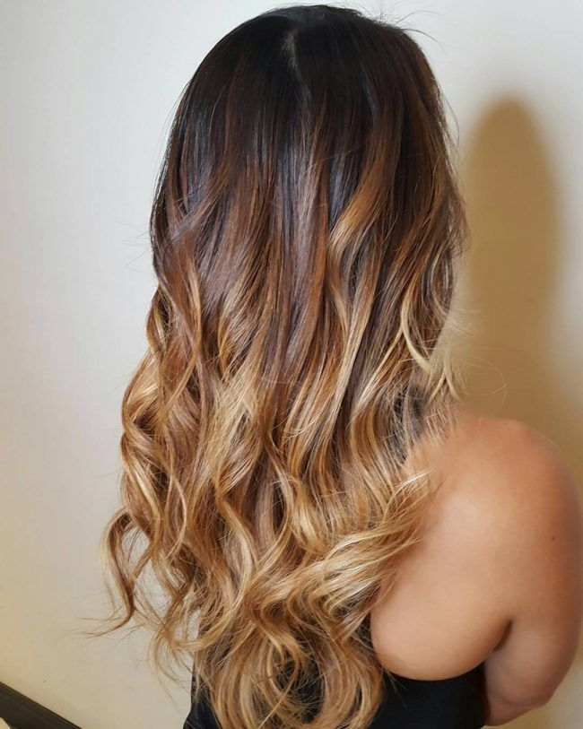 Dark To Light Brown Ombre Pinteres