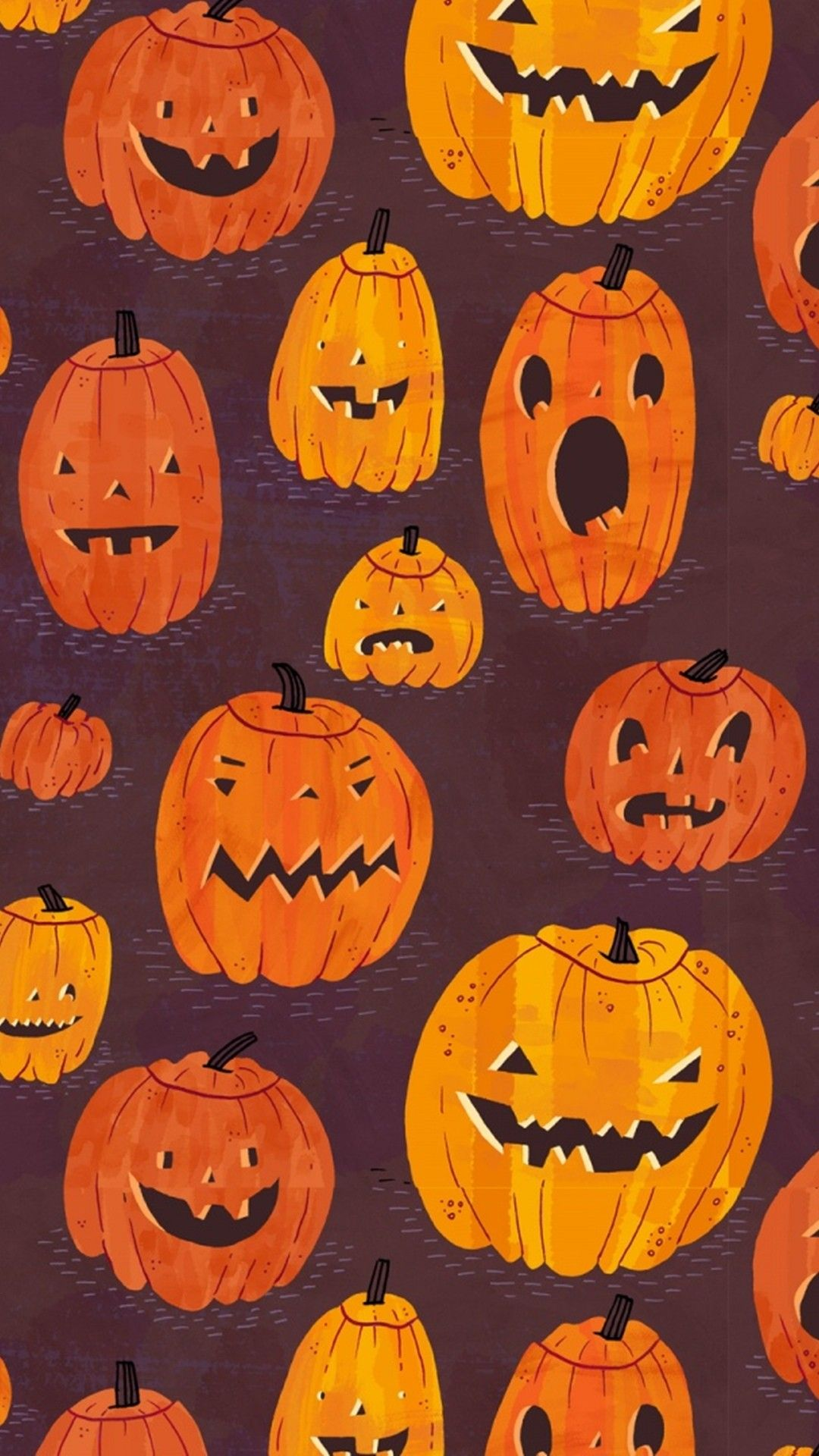 Cute Pumpkin Tap to see more cute halloween wallpaper
