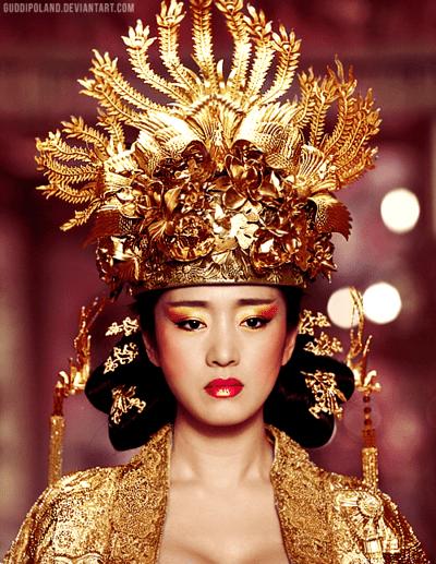 chloefawnblogazine Gong Li as Empress Phoenix in 'Curse
