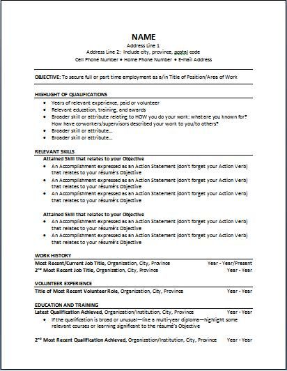 High Quality Functional Resume Sample Are Examples Idea How To Make A Functional Resume