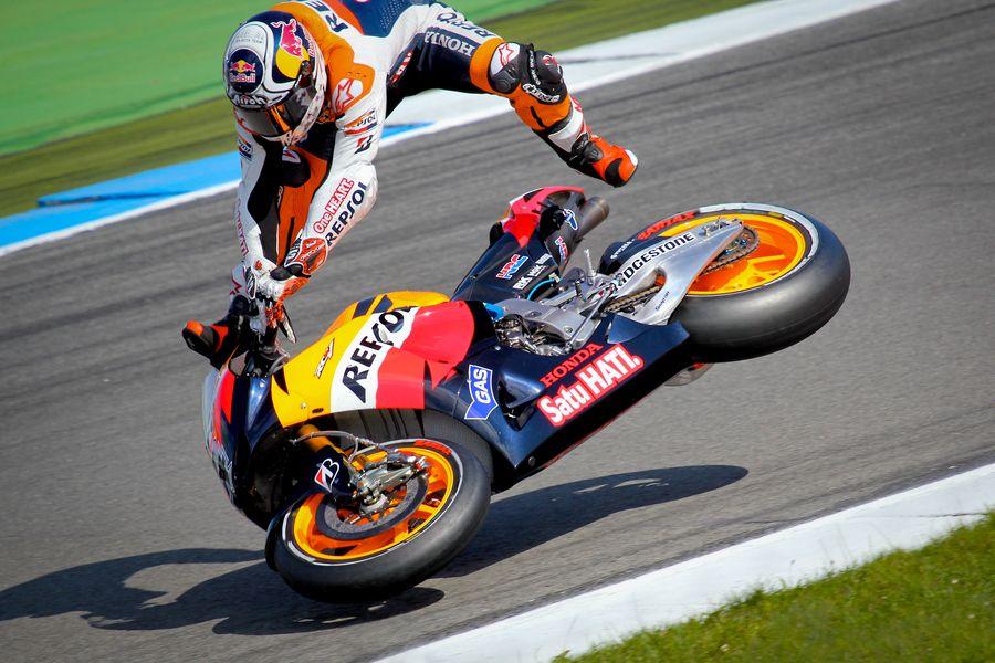 Crash Andrea Dovizioso by Emma , via 500px Perfect