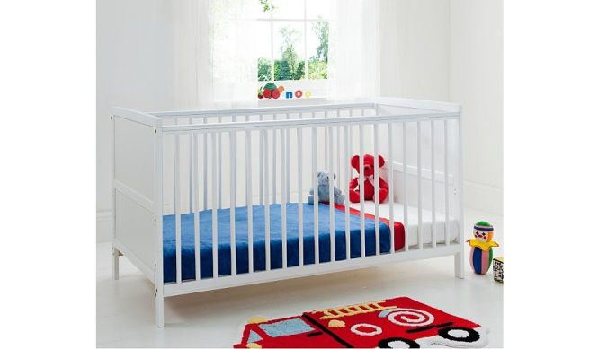 Kinder Valley Kai Cot Bed White From Our Nursery Furniture Range Today George