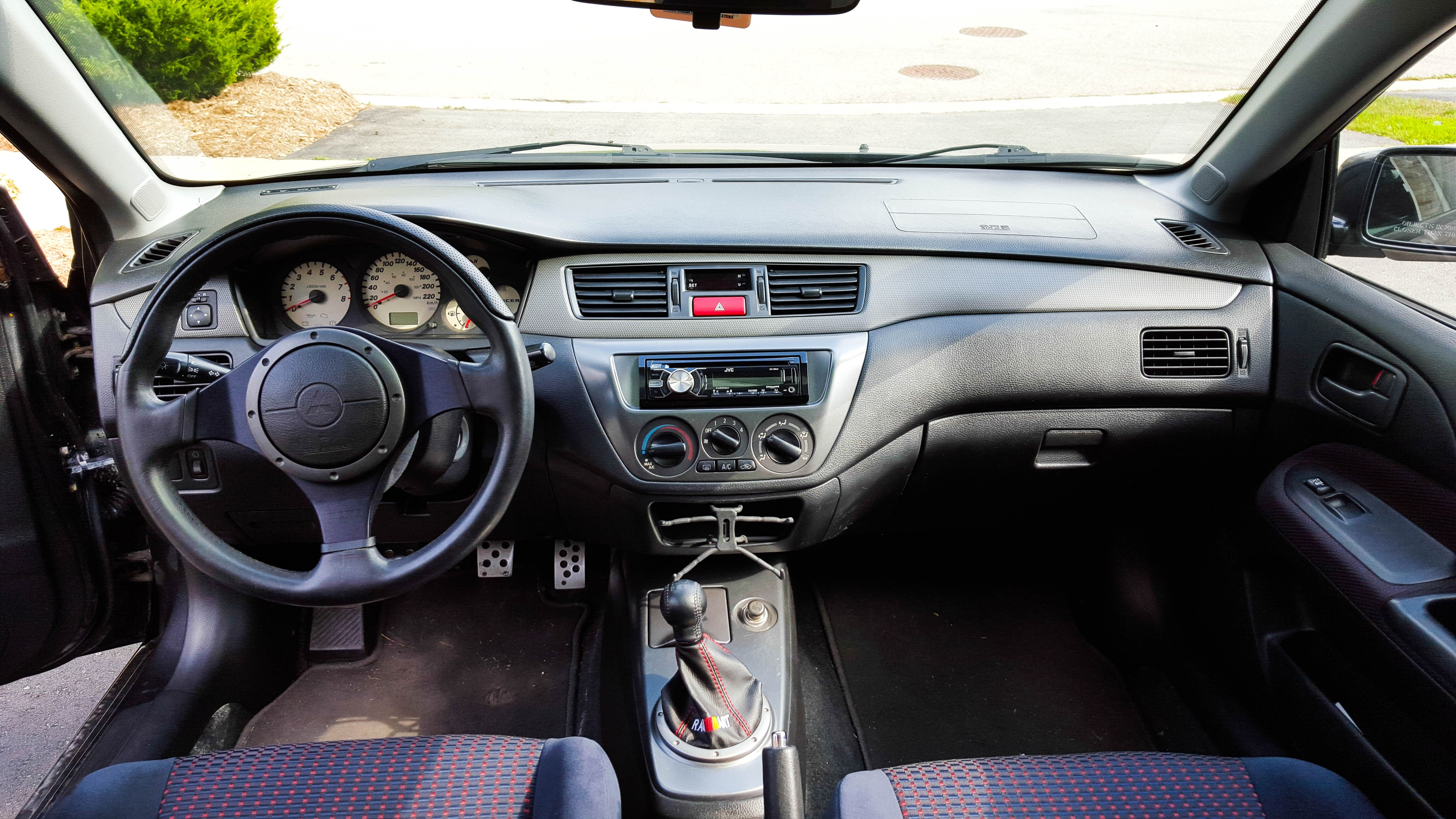 2004 Lancer Ralliart Interior (Canada) All Things Lancer