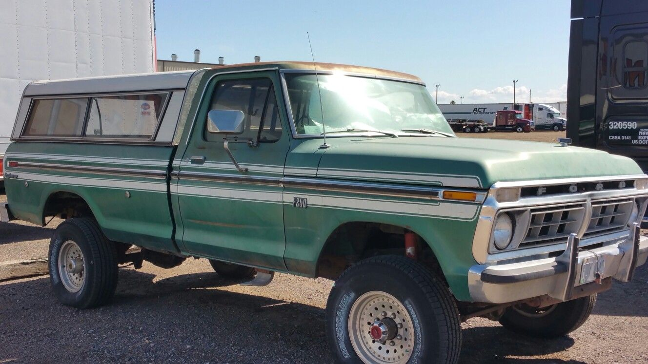 1977 Ford F100 4x4 Cool 4X4's Pinterest Ford, Ford