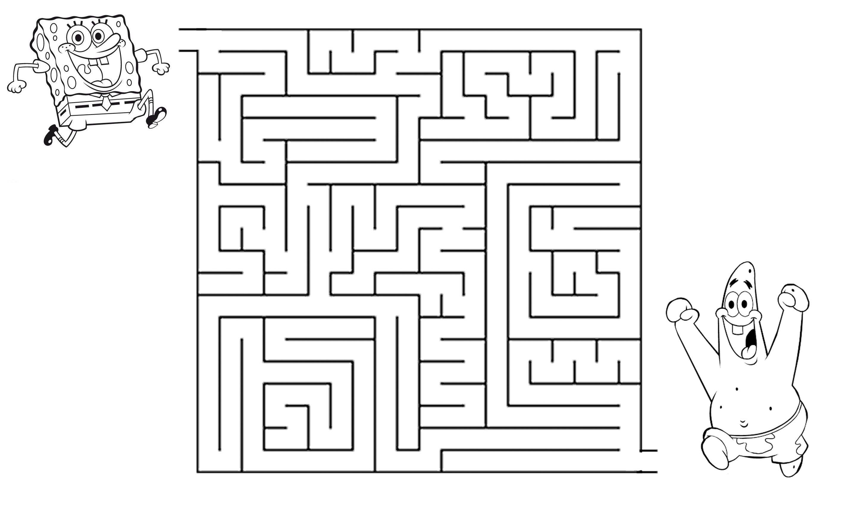 Spongebob Maze Gallery