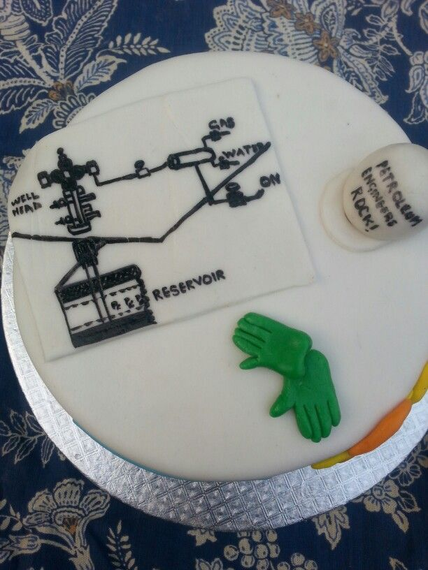 Cake For Petroleum Engineer My Cakes At Cakes Pk