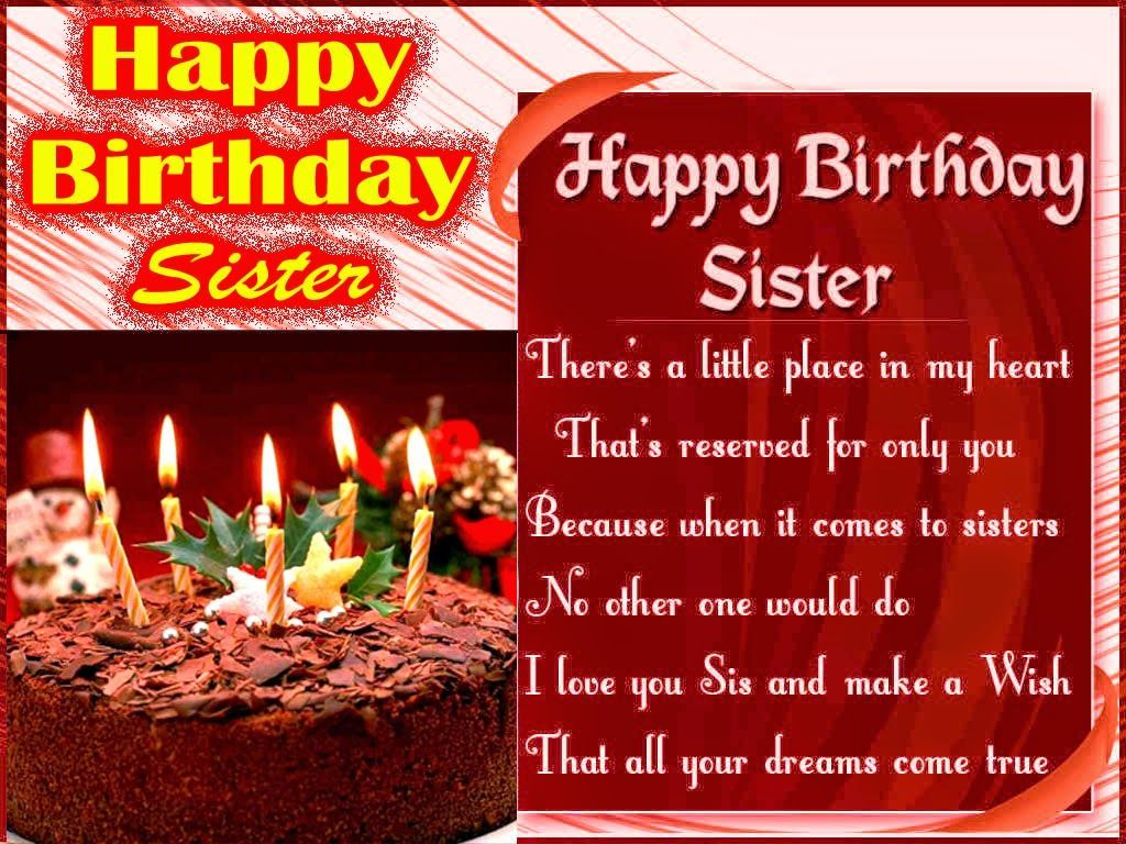 happy birthday wishes for sister in hindi Happy Birthday