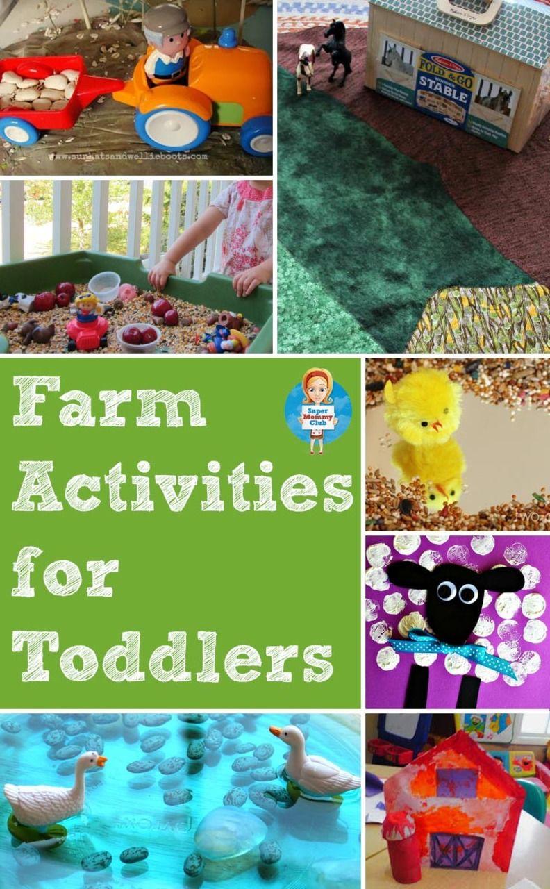 Fun farm activities for toddlers Farm activities, Autumn