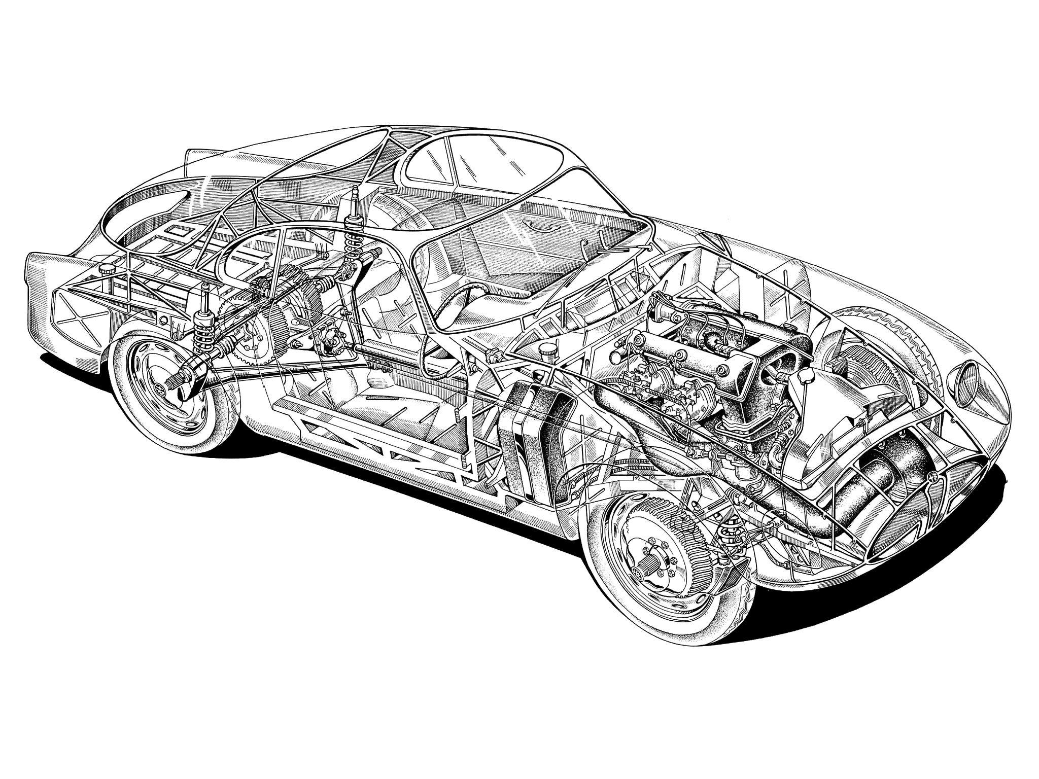 Alfa Romeo Sportiva Coupe Bertone
