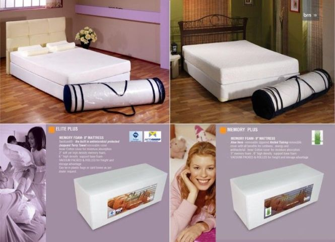 High Density Memory Foam Roll Mattress Vacuum Packed Ng Up Product On Alibaba