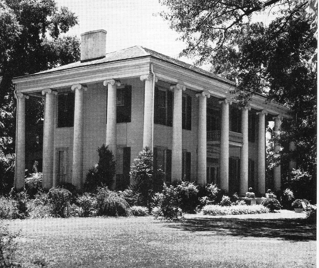 DearingSwain House, 1835 Tuscaloosa, Alabama ALABAMA