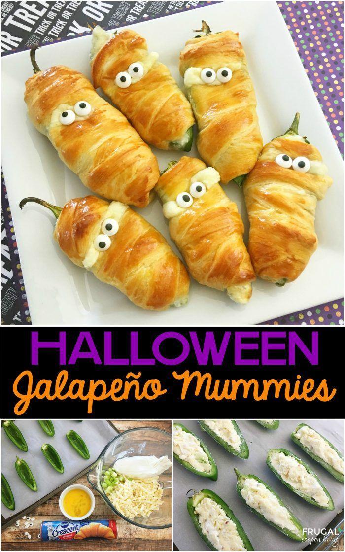 Halloween Jalapeño Mummies Recipe Halloween food