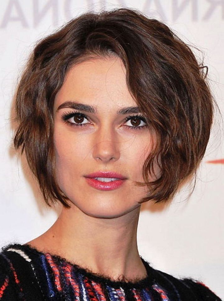 Curly Short Hair For Square Face Hairstyles Wavy