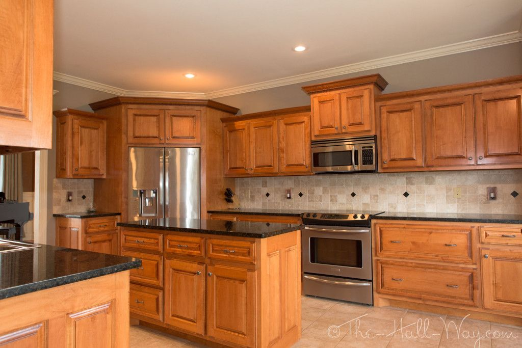 popular kitchen colors with maple best kitchen