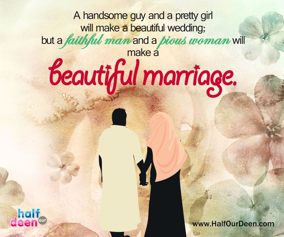 A handsome guy and a pretty girl will make a beautiful