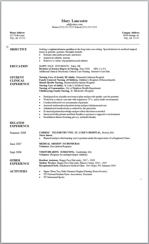 resume for lpn new graduate lpn nurse resume sample lpn graduate sample lpn resume objective