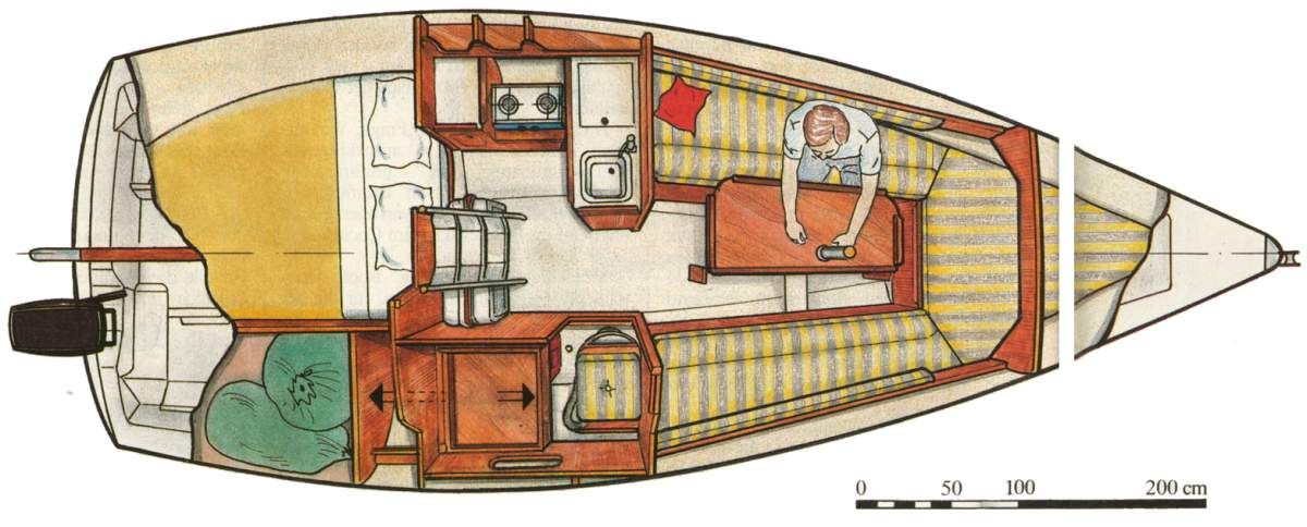 Small Boat Interior Layout