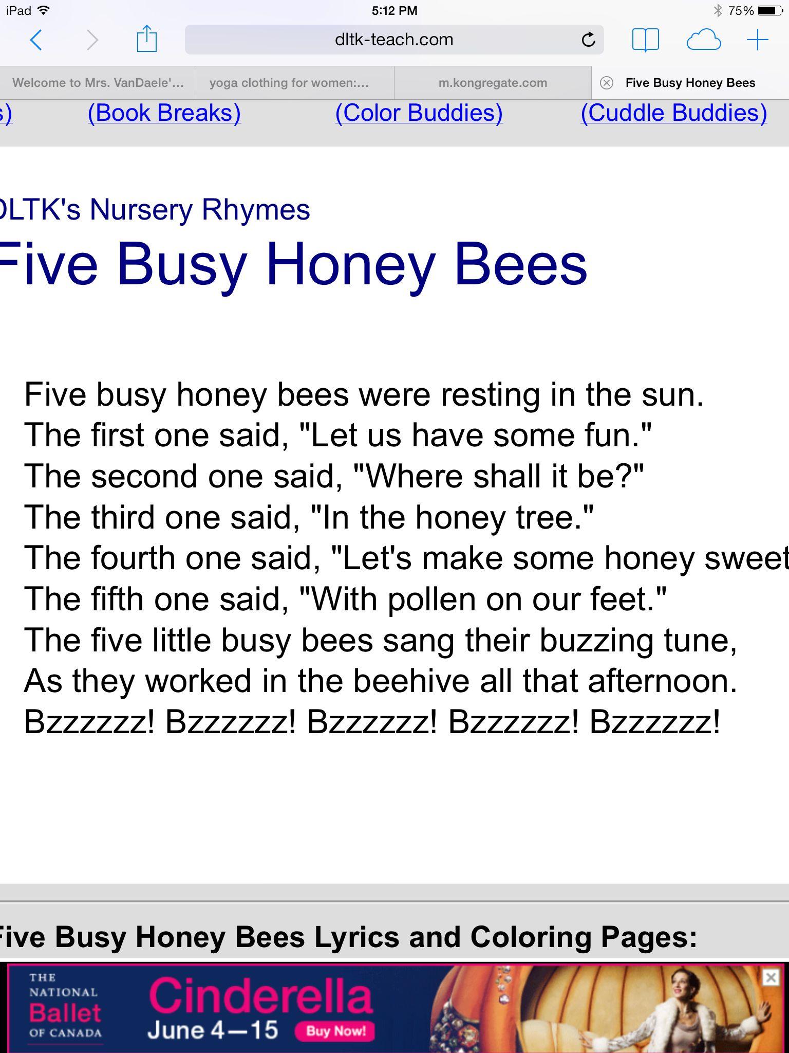 Bee Poem