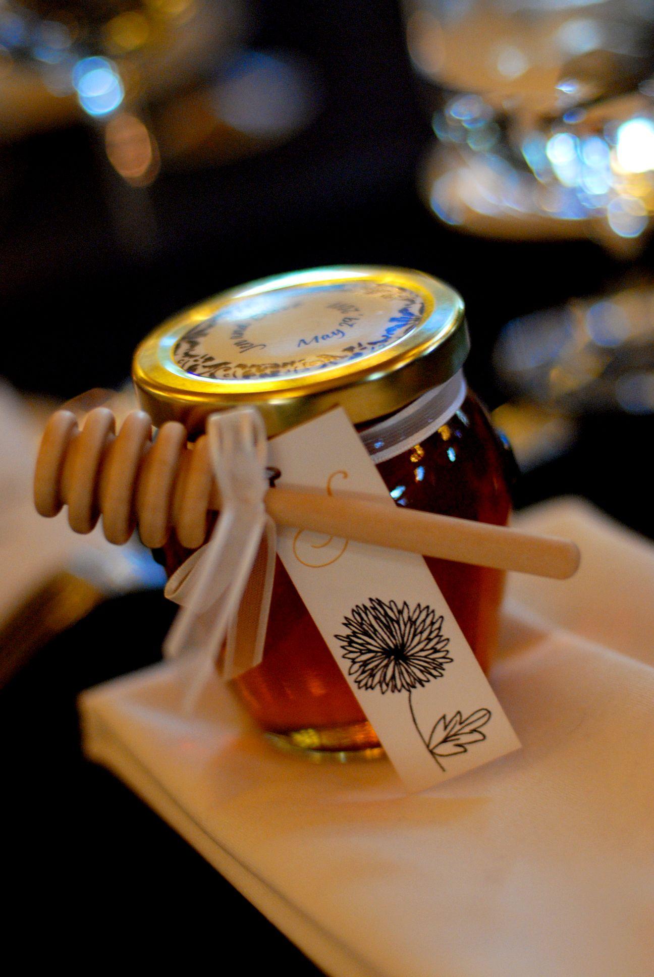Honey Jar favor Our Wedding Pinterest See more best