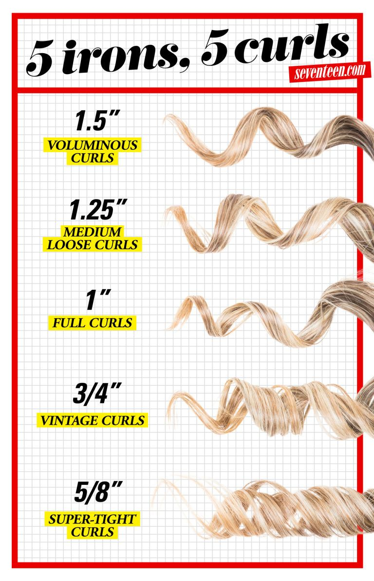 how to get beach waves with a curling iron