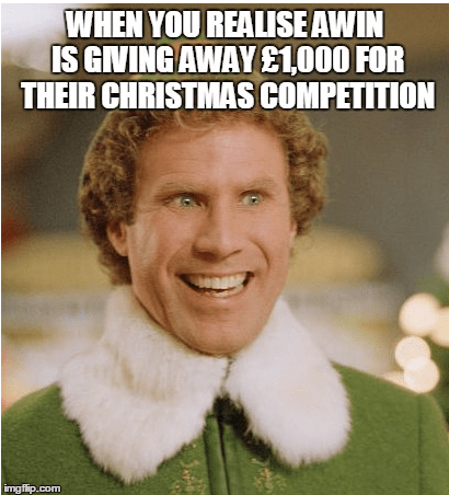 Here's our Christmas meme to give you inspiration for our