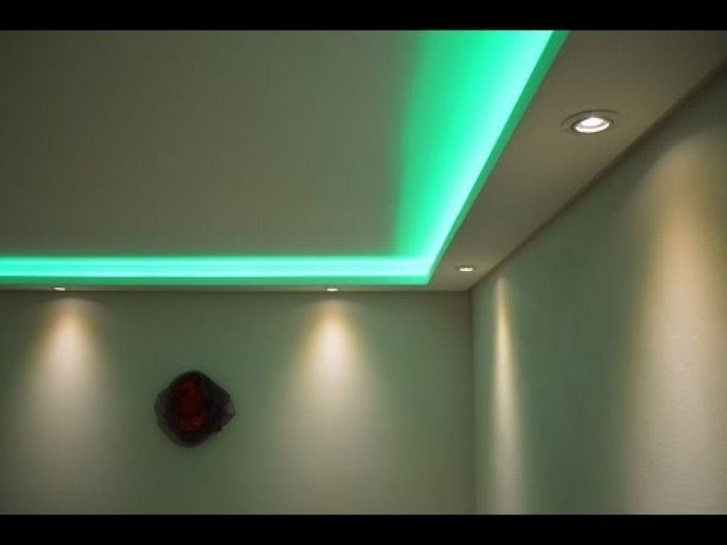 Abgehangte Decke Mit Beleuchtung Stuckleisten Lichtprofile