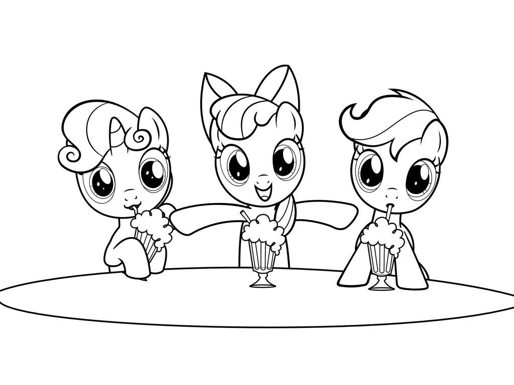 My Little Pony Derpy And Twilight