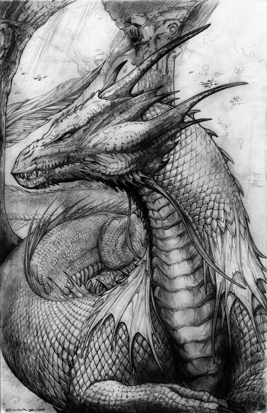 Sand Dragon by ChuckWalton * Dragon Fantasy Myth Mythical
