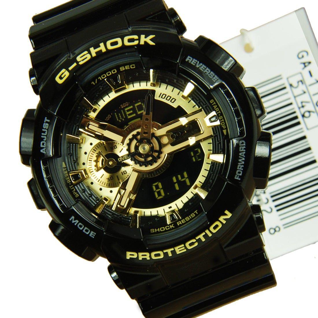 Casio GShock Black & Gold Casio GShock Threads