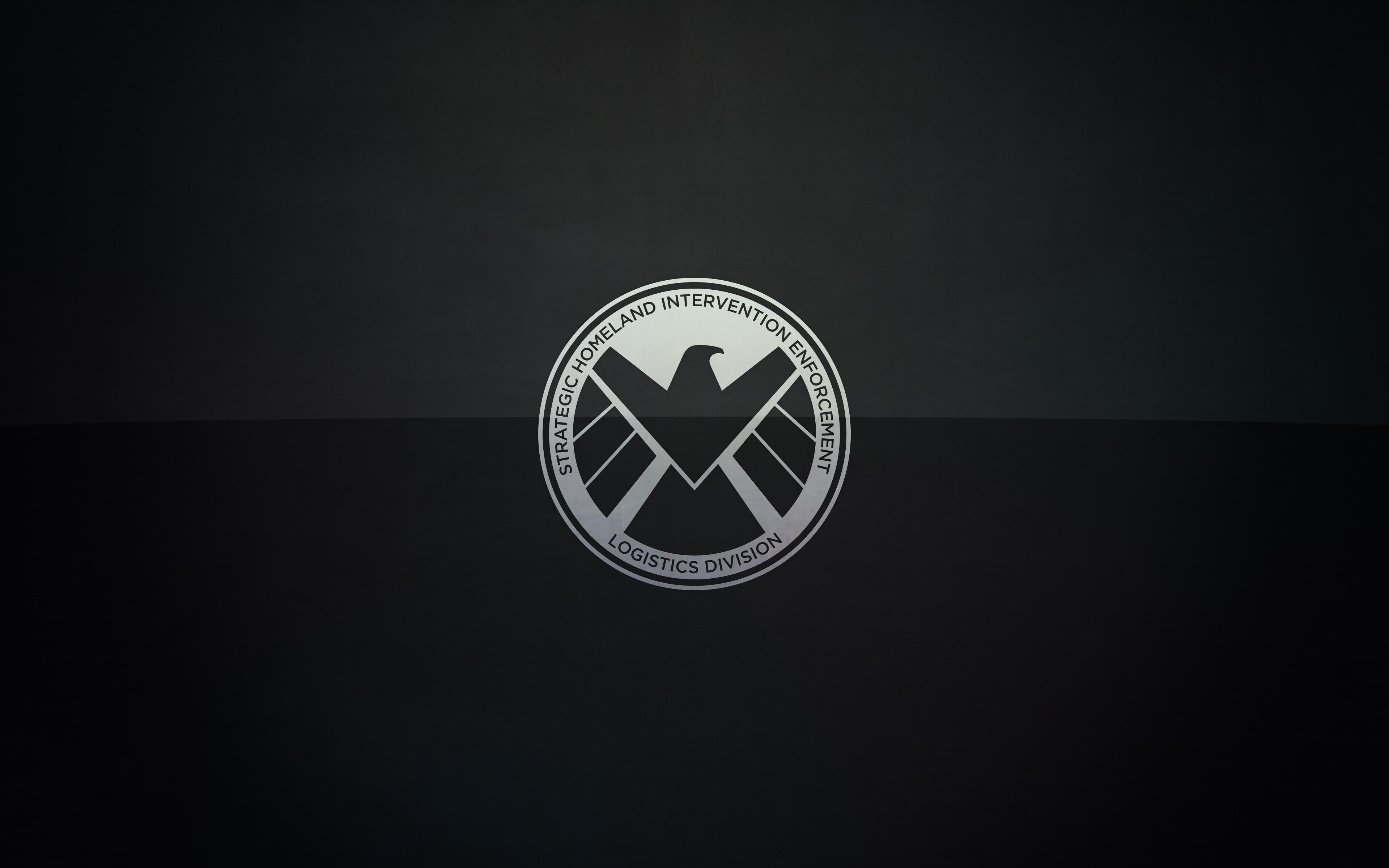 Marvel's Agents of S.H.I.E.L.D. Logo Wallpaper Wide or HD