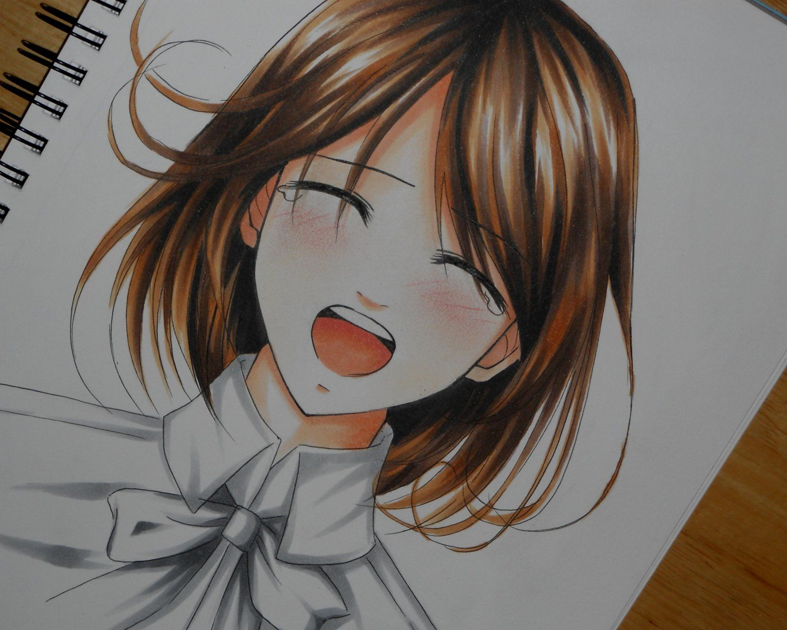 happy crying anime face dromfhd.top Drawing