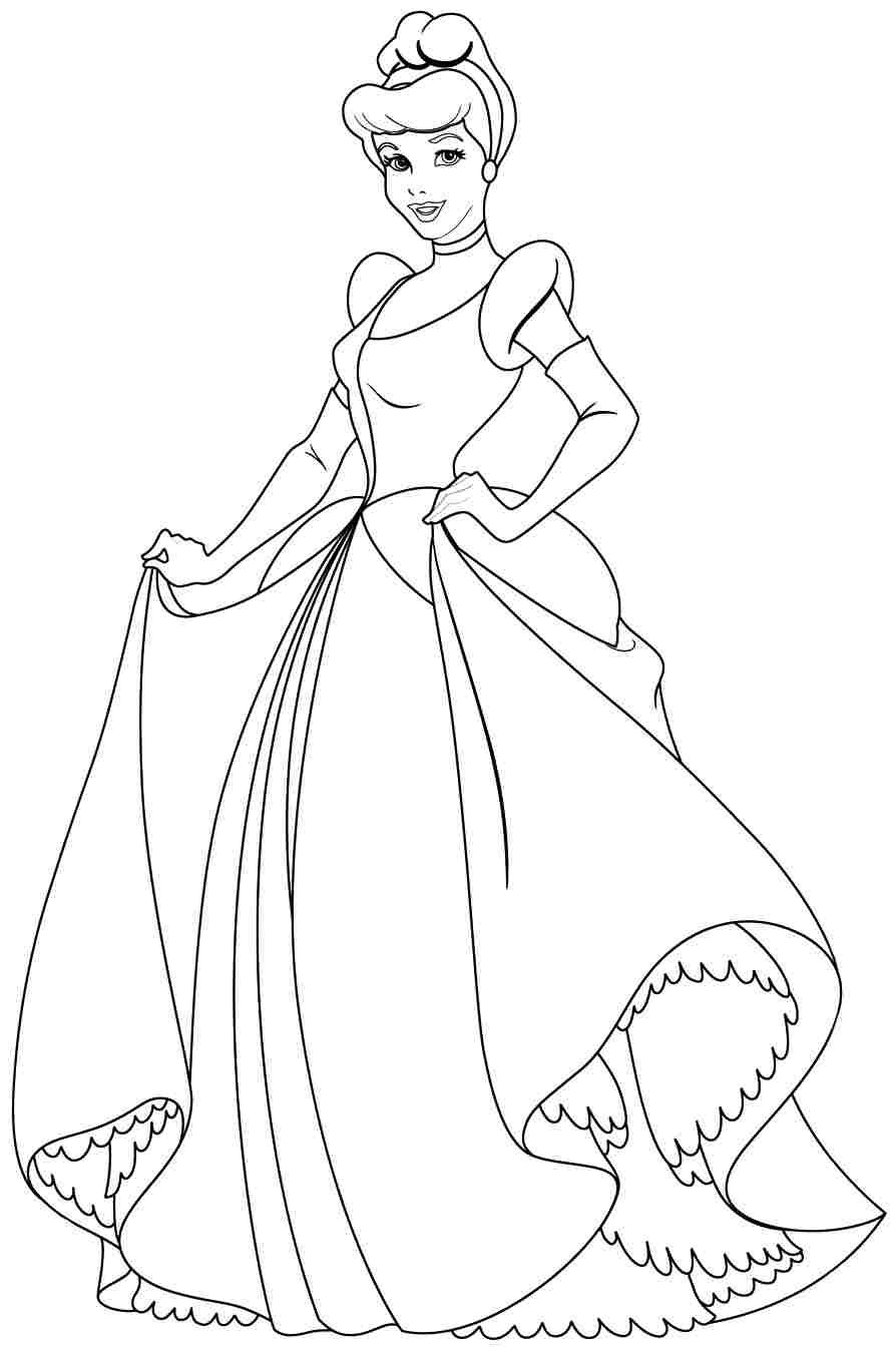 1000 images about coloring pages lineart disney cinderella on