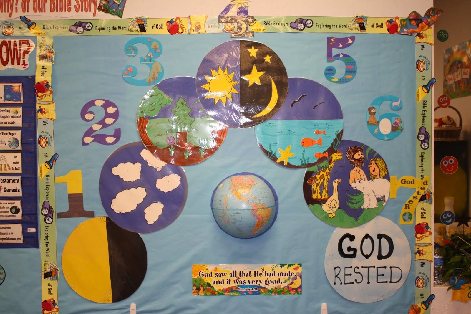 Hands On Bible Teacher Creation God S Awesome Plan For Man