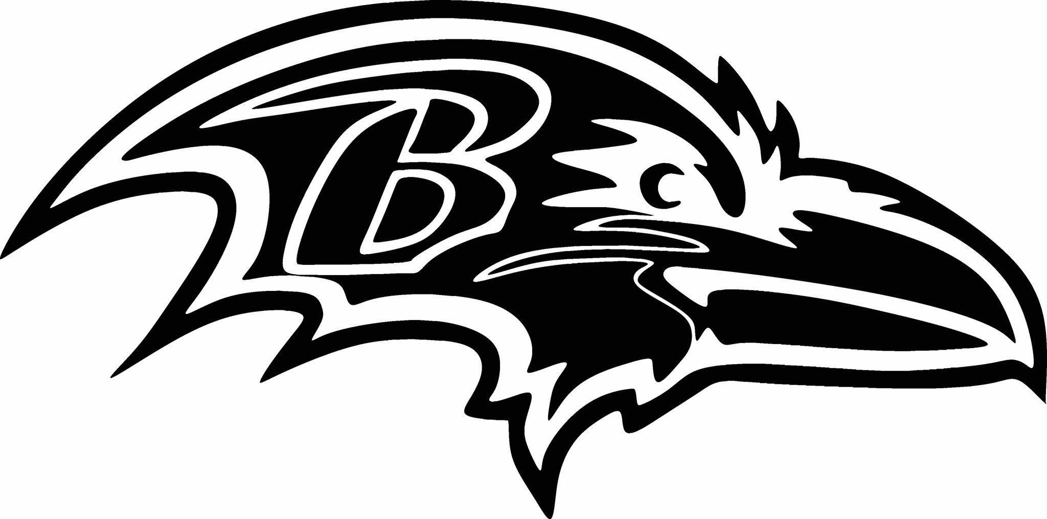 Baltimore Ravens LOGO Vinyl Cut Out Decal Choose your